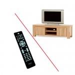 TV apparatuur in TV meubel bedienen?