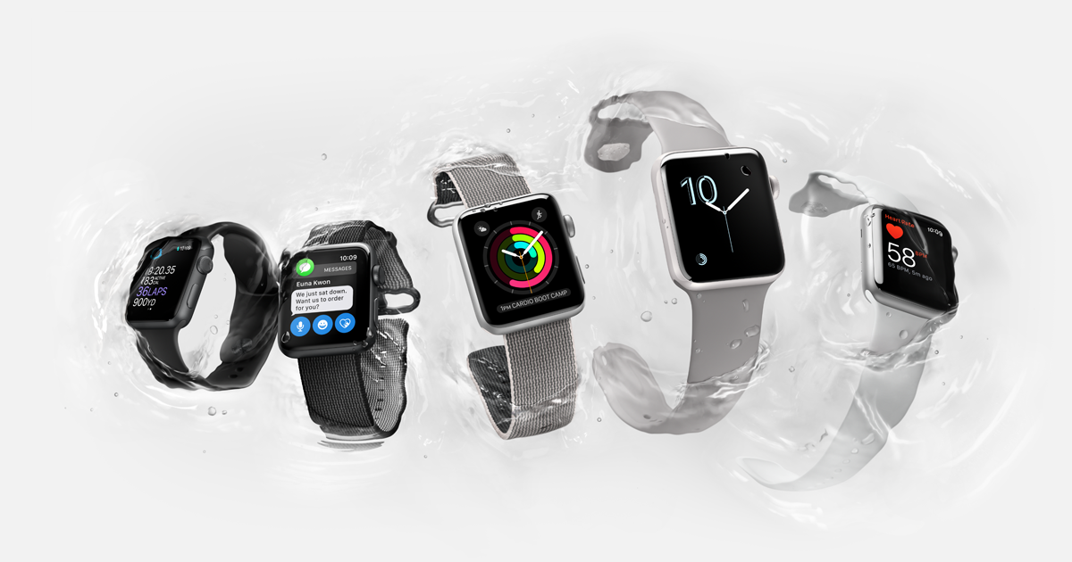 Nieuwe Apple Watch series 2